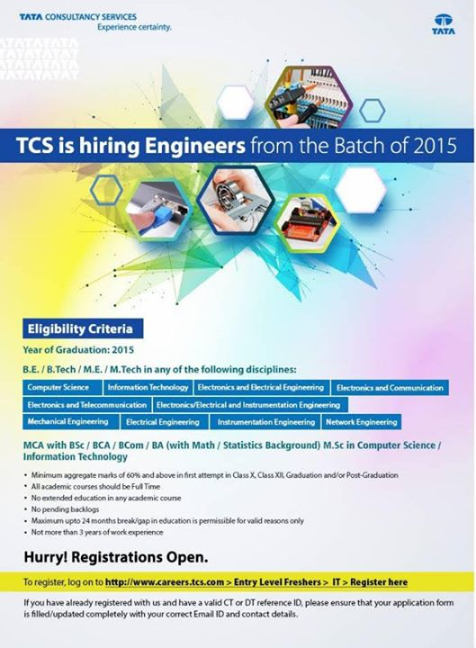 tcs 2015 hiring - Apuzz Jobs